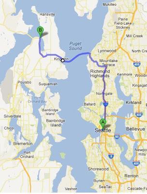 edmonds ferry route